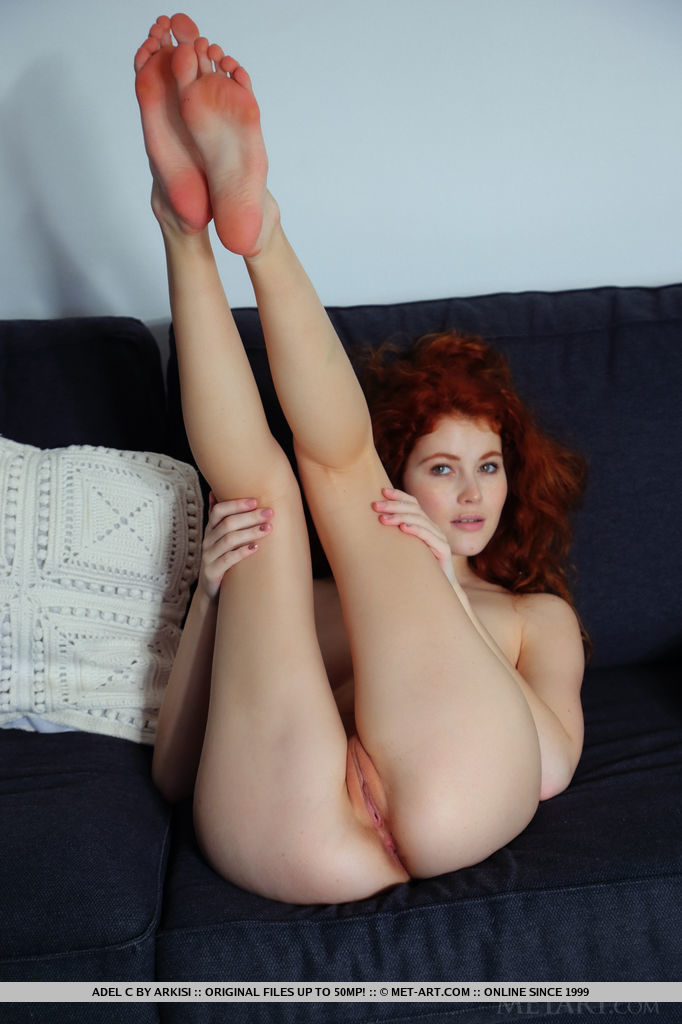 Best mature model Adel C in naked sessions