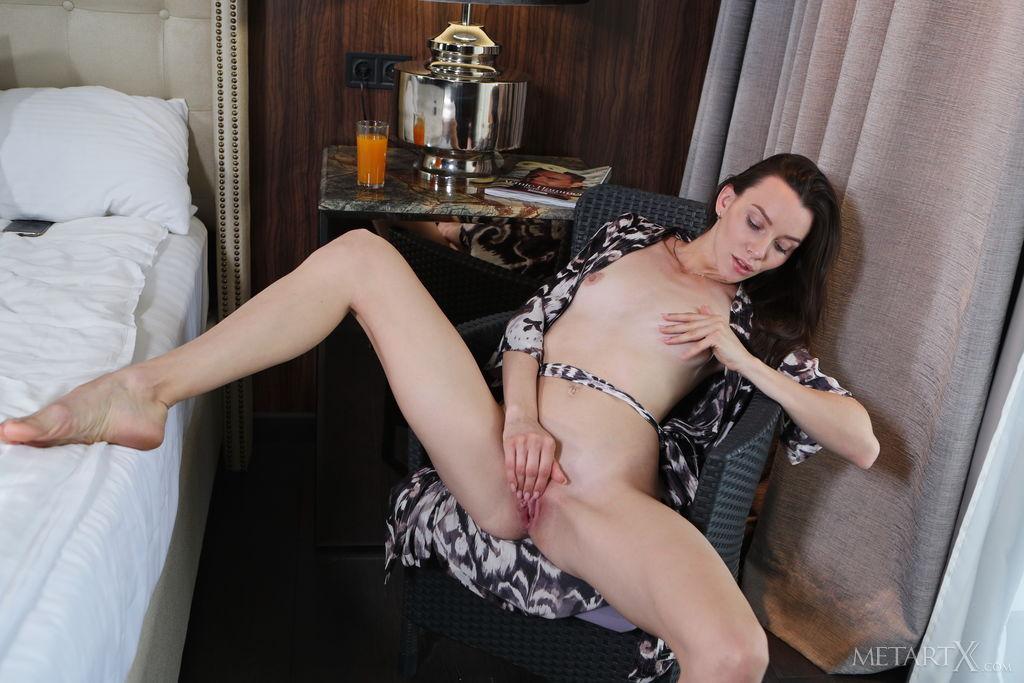 Love In My Bed MetArt X is stunning Adel Morel