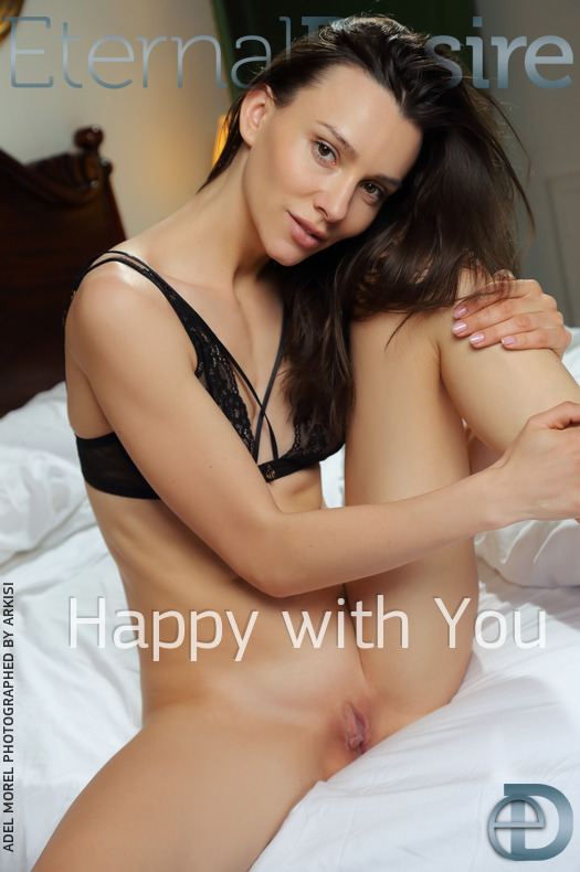 On the magazine cover of Happy with You Eternal Desire is exciting Adel Morel