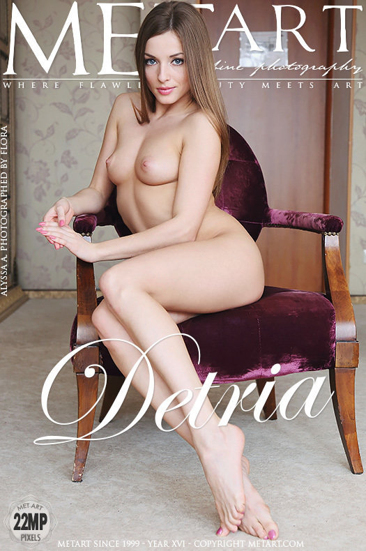 On the cover of Detria MetArt is fascinating Alyssa A