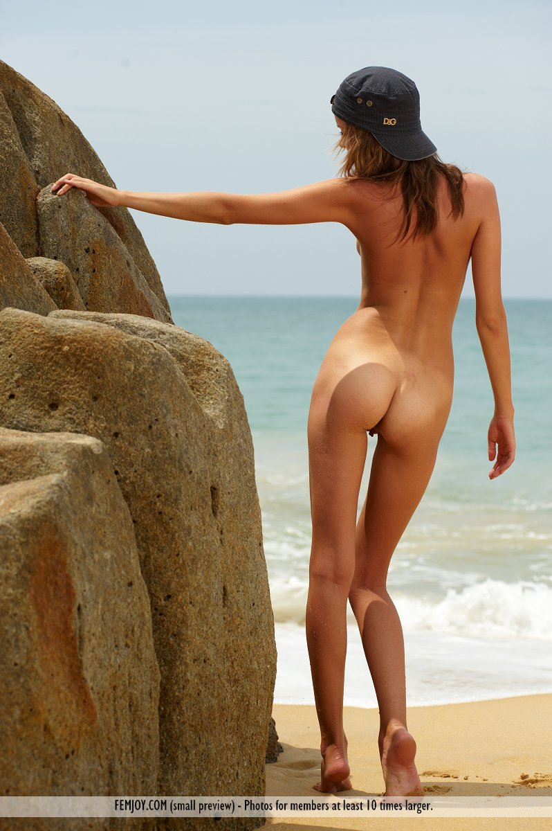On the cover of Desert Island FemJoy is awe-inspiring Amelie
