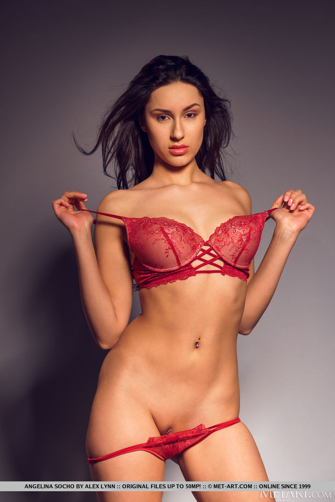 Angelina Socho in spicy photo sessions