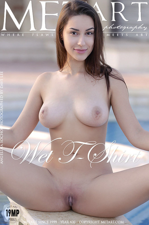 Magazine coverAngelina Socho concupiscent large boobs