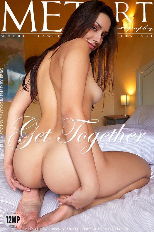 Magazine coverAngelina Socho fascinating large boobs