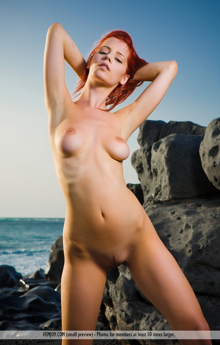 On the cover of Summer Breeze FemJoy is marvelous Ariel