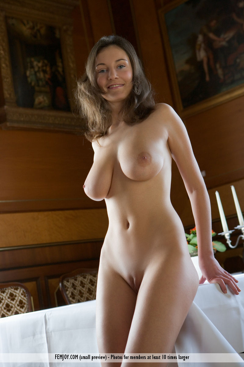 On the magazine cover of After Dinner FemJoy is breathtaking Ashley