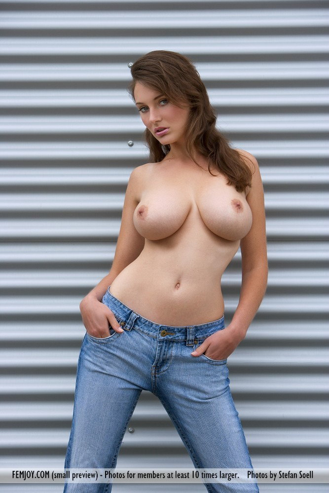 On the cover of Modern Times FemJoy is astonishing Ashley