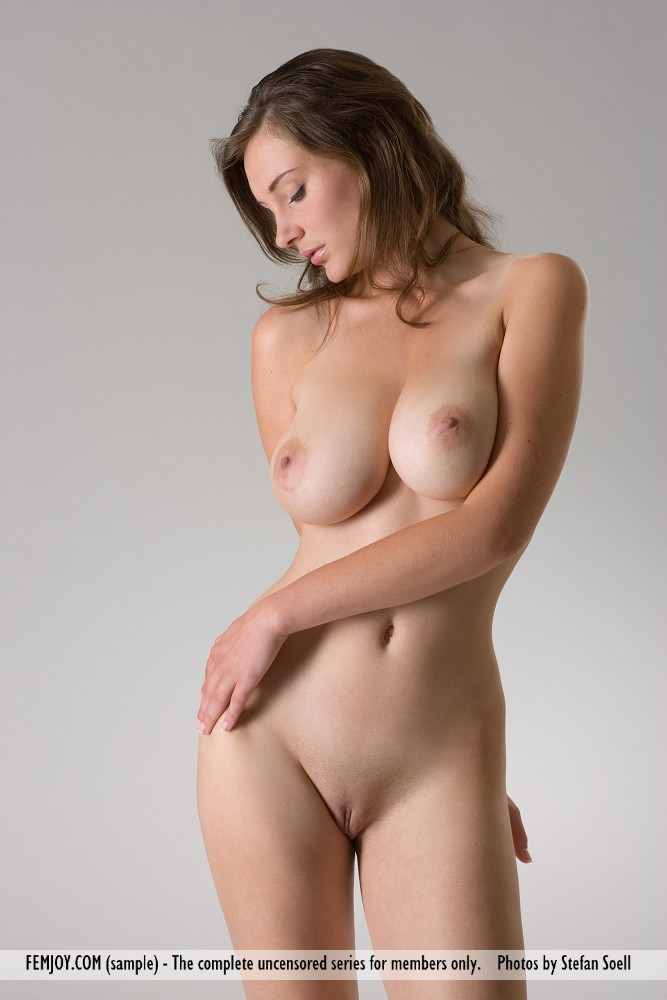 This damsel has disrobed large boobs pic