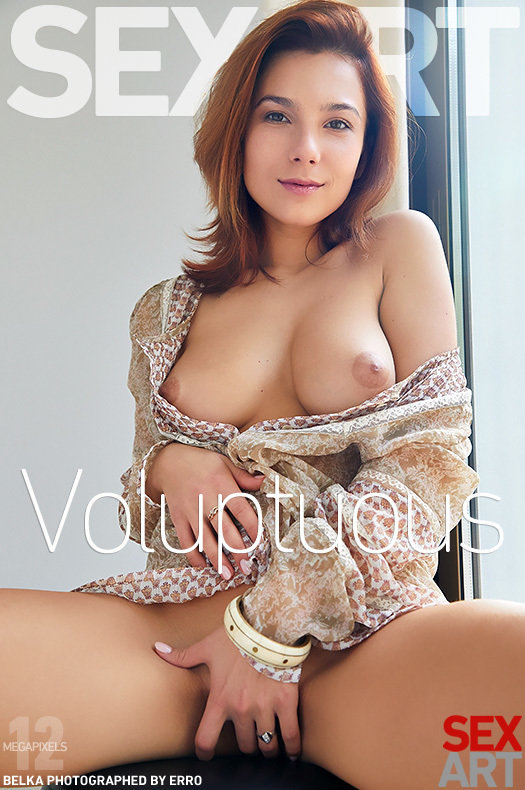 On the cover of Voluptuous SexArt is awesome Belka