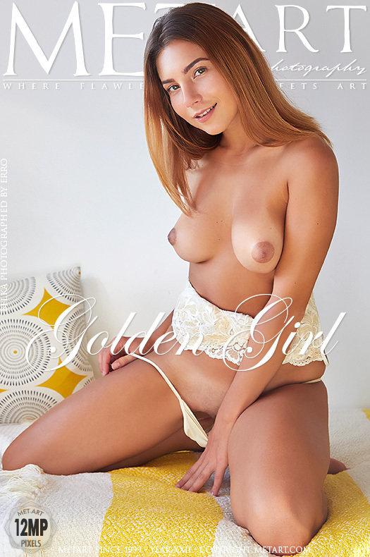 Featured Golden Girl MetArt is startling Belka