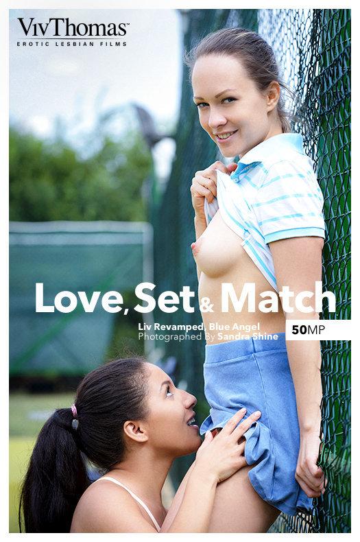 On the magazine cover of Love, Set & Match Viv Thomas is heart-stirring Blue Angel, Liv Revamped