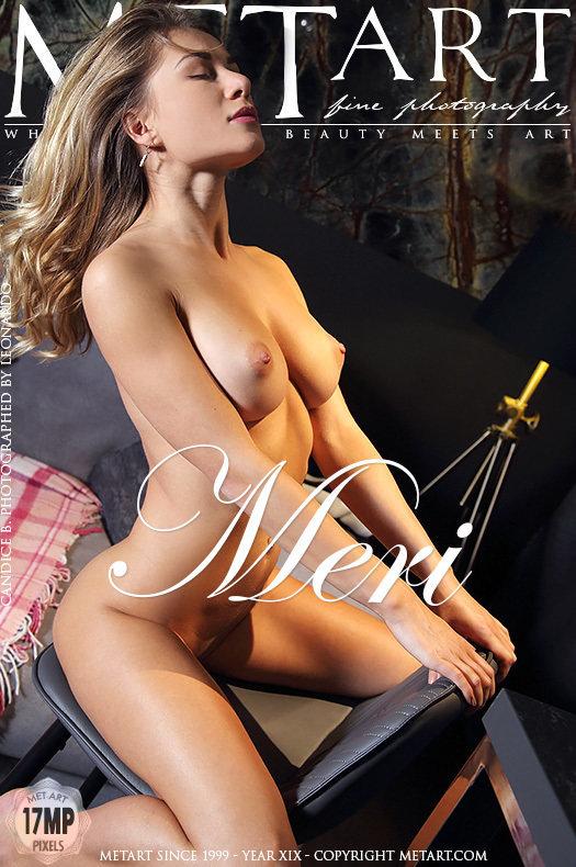 Magazine coverCandice B large titties