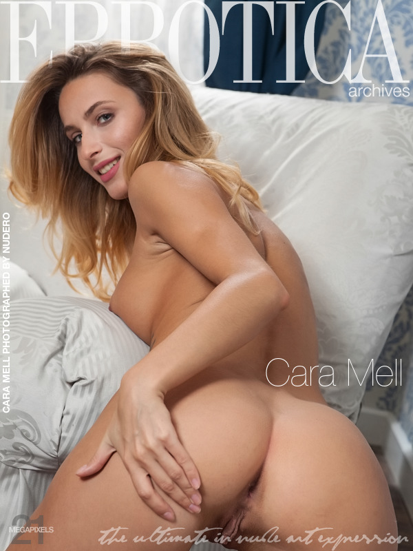 Magazine coverCara Mell stark medium tits