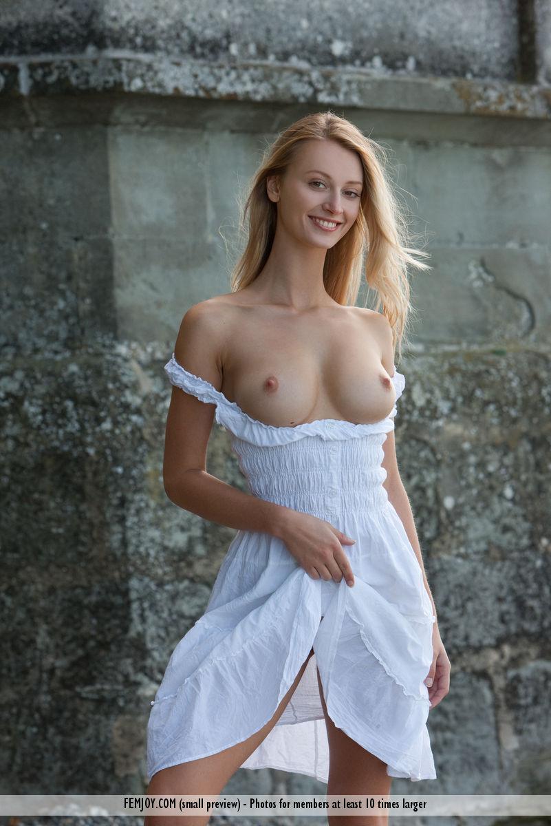 garmentless big tits photo