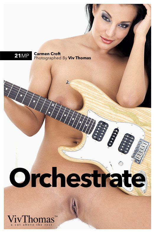 On the magazine cover of Orchestrate Viv Thomas is lofty Carmen Croft