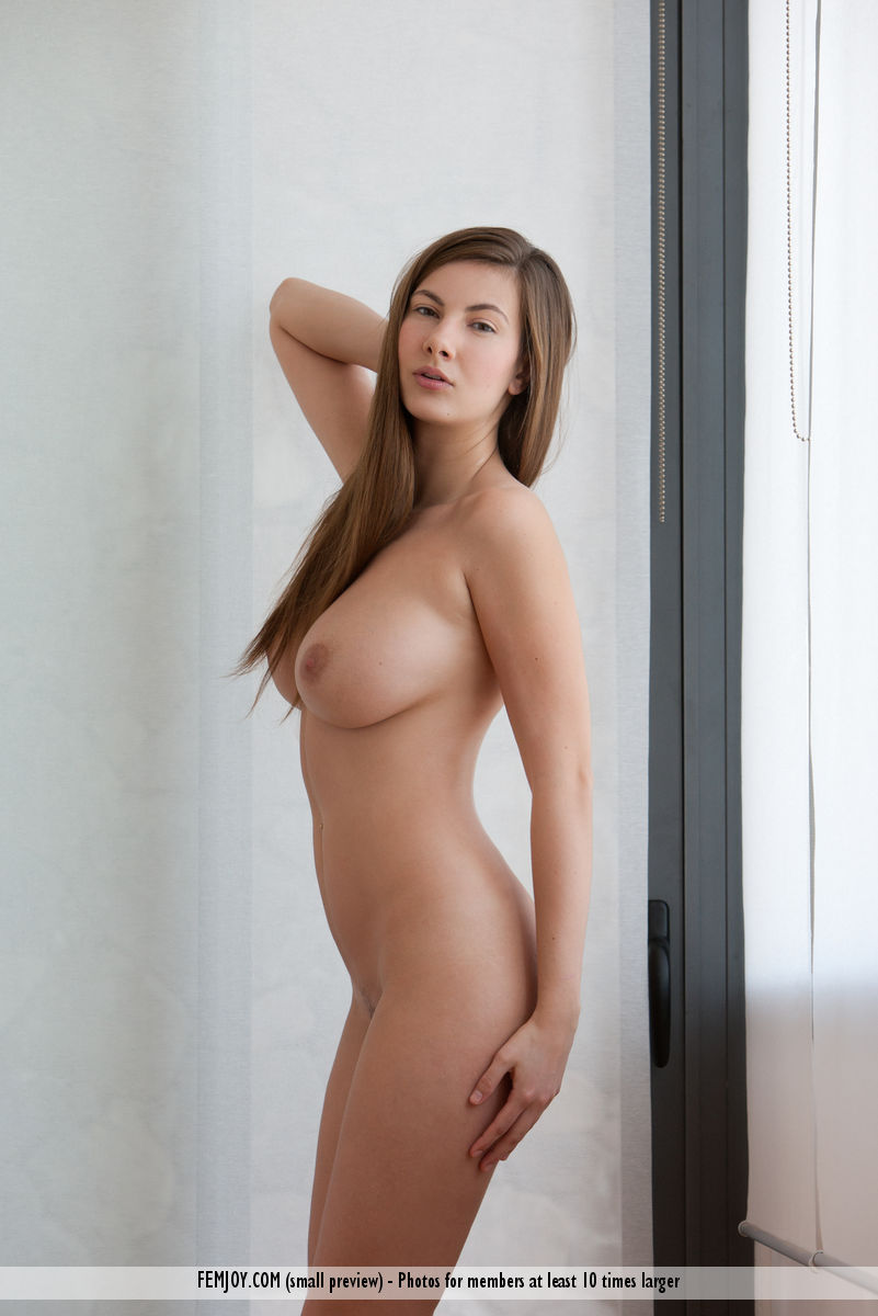 On the cover of Any Time Any Place FemJoy is lofty Connie Carter