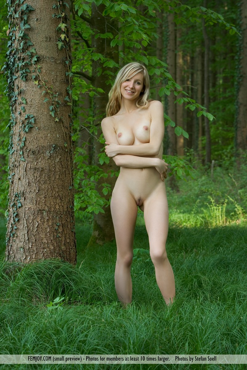 On the magazine cover of Blonde Innocence FemJoy is amazing Corinna