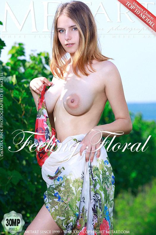 Magazine coverDakota Pink mature medium breasts