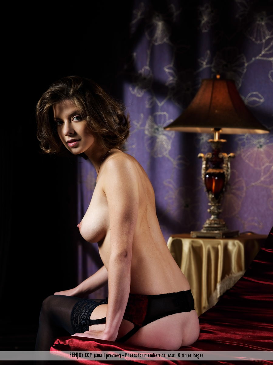 On the magazine cover of Private Party FemJoy is unbelievable Danica