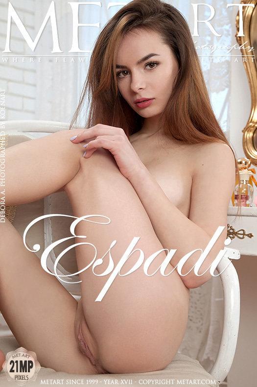 Magazine coverDebora A nude medium tits