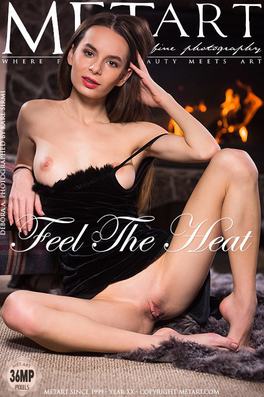 On the cover of Feel The Heat MetArt is exciting Debora A