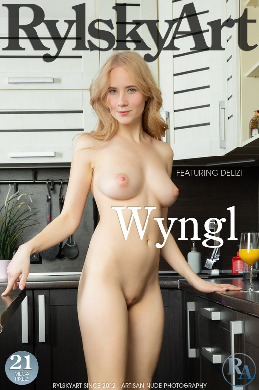 On the magazine cover of Wyngl Rylsky Art is spectacular Delizi