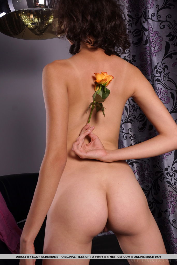 Djessy in amorous photo sessions