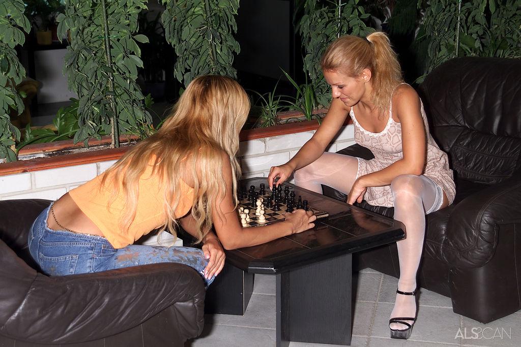 Dori, Sandy in sensual photo sessions for gratuitous