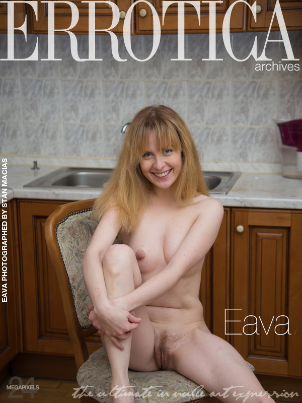 On the cover of Eava Errotica Archives is amazing Eava