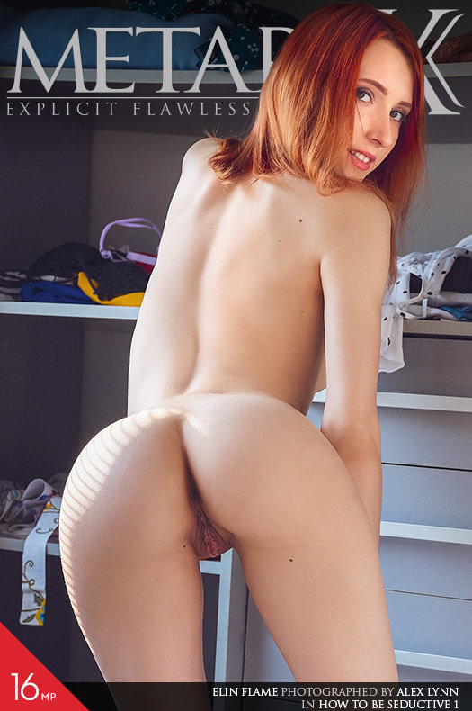 Featured How To Be Seductive 1 MetArt X is attractive Elin Flame