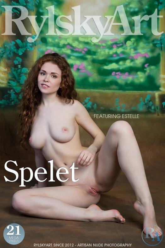 Magazine coverEstelle kissable big tits