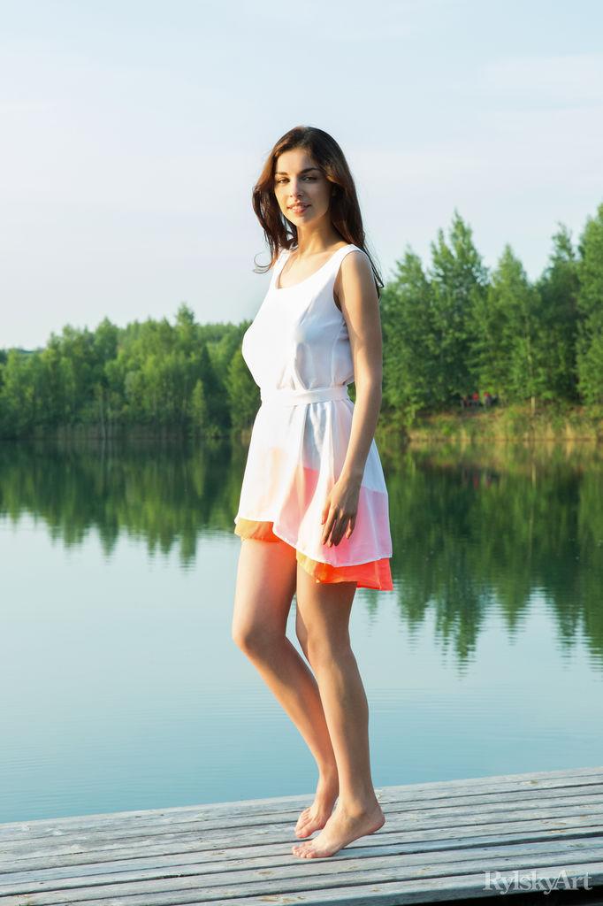 Evita Lima in lascivious photo sessions