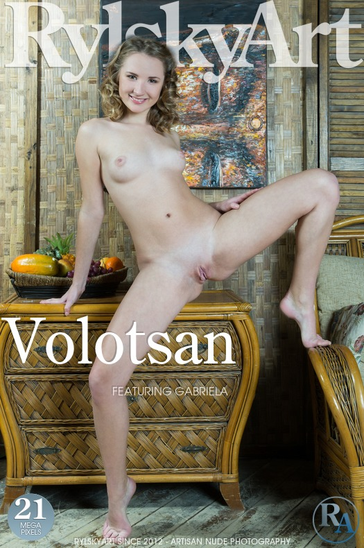 On the magazine cover of Volotsan Rylsky Art is staggering Gabriela