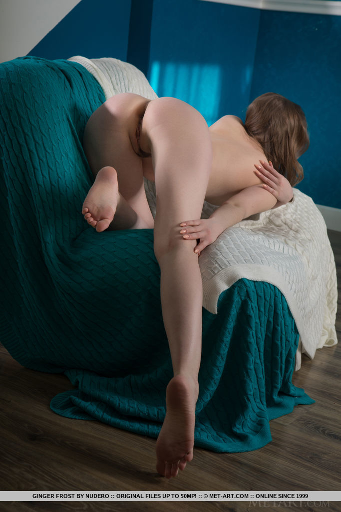 Best amazing model Ginger Frost in disrobed sessions