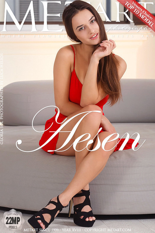 On the magazine cover of Aesen MetArt is shocking Gloria Sol