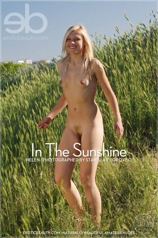 On the cover of In The Sunshine Erotic Beauty is impressive Helen I