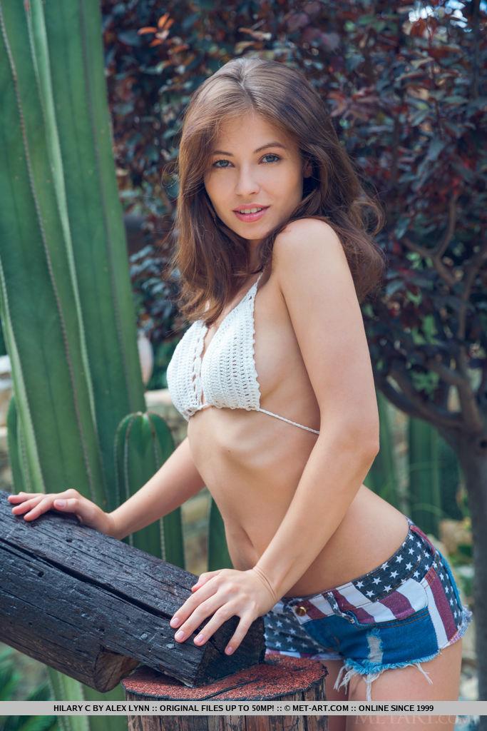 Best lewd model Hilary C in buck naked sessions