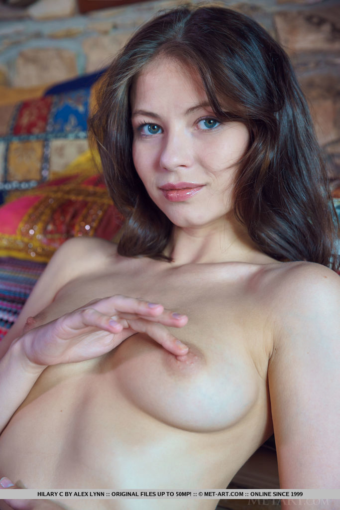 Hilary C in one-s skin medium boobs pix