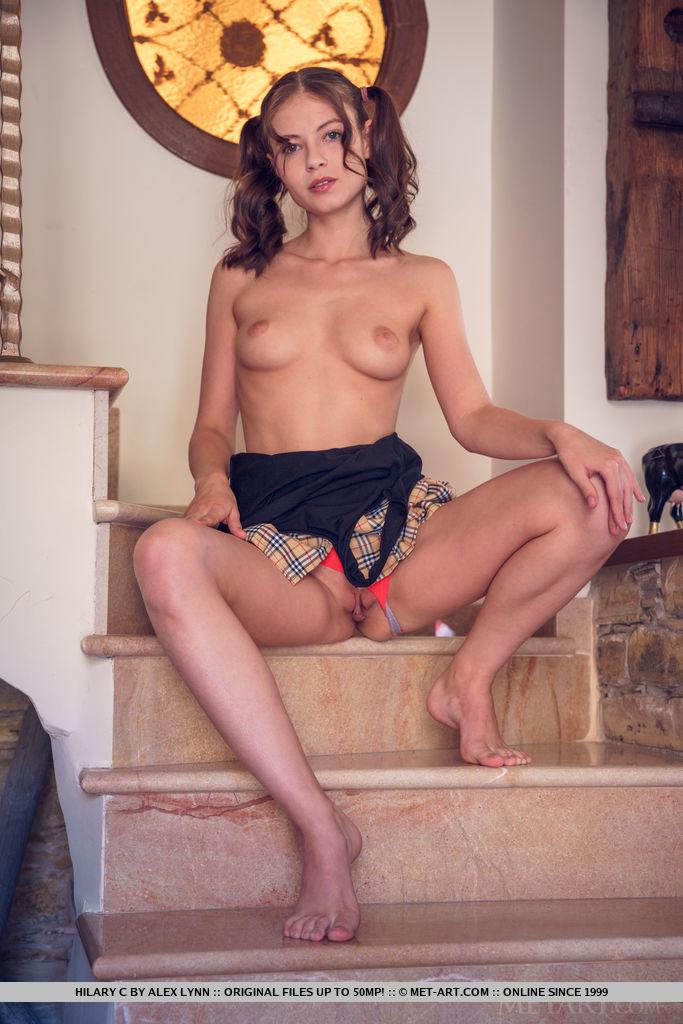 Hilary C marvelous medium breasts slide