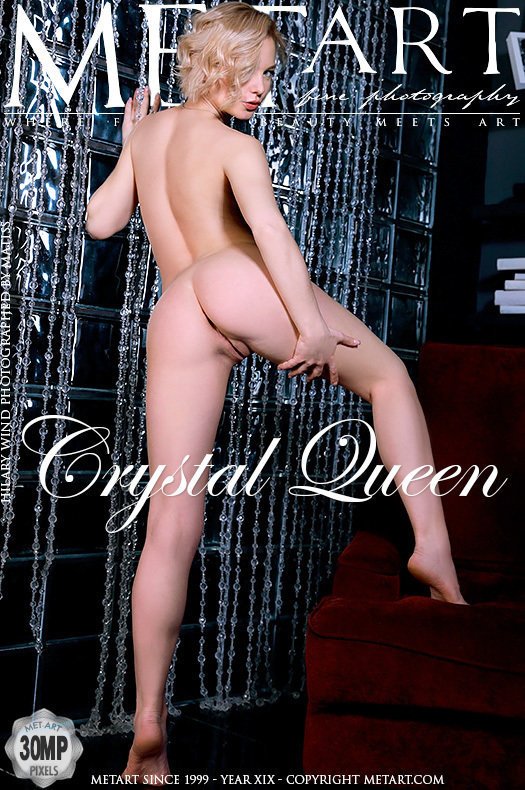 On the magazine cover of Crystal Queen MetArt is exalted Hilary Wind