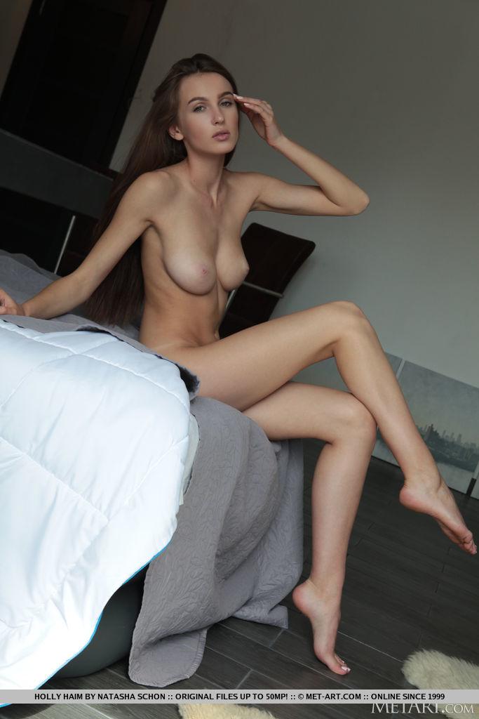 Holly Haim medium titties image