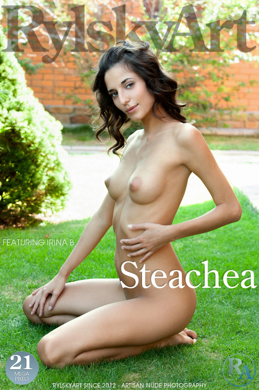 On the cover of Steachea Rylsky Art is surprising Irina B