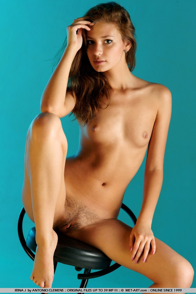 This young lady has small naturalbreasts shot