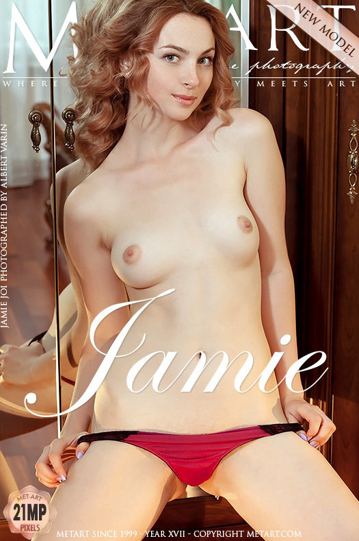 On the cover of Presenting Jamie Joi MetArt is unbelievable Jamie Joi