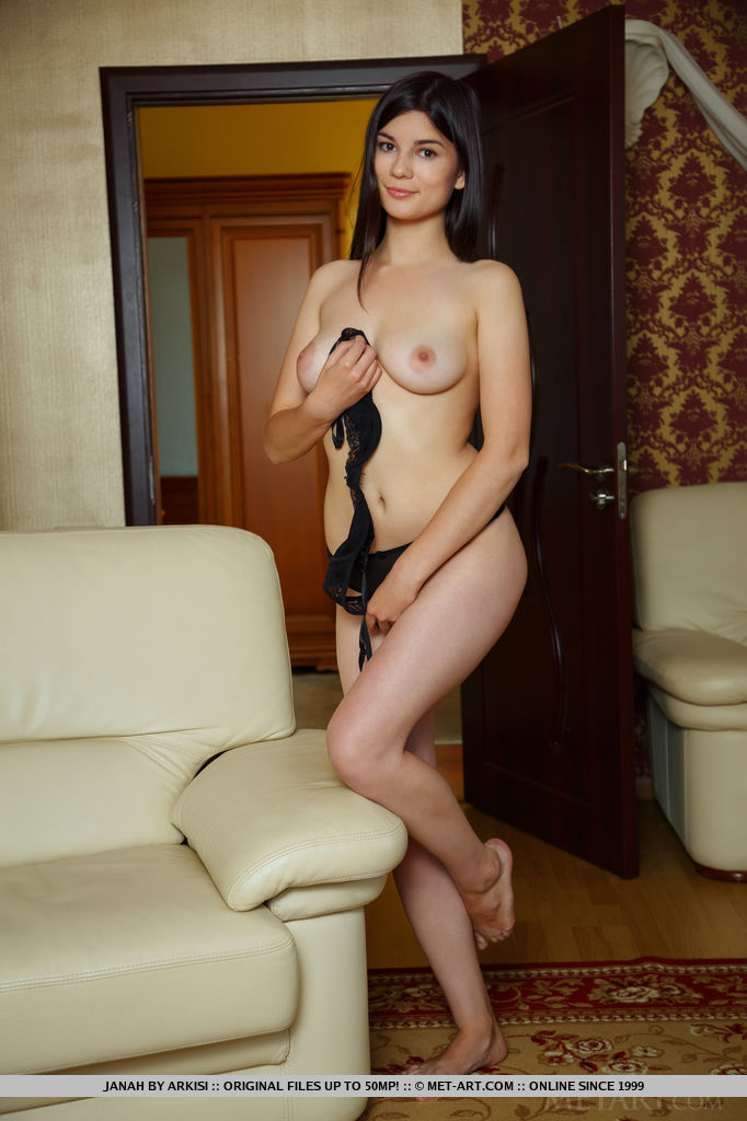Best magnificent model Janah in uncovered sessions