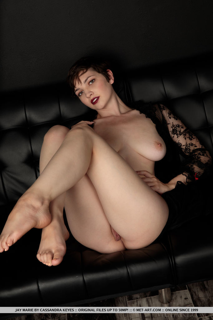 Model of Jay Marie in undraped sessions