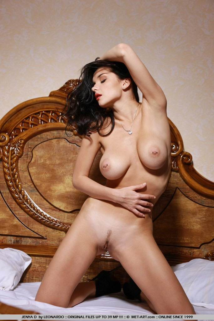 Jenya D in romantic photo sessions for free