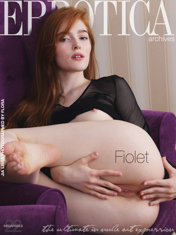 On the cover of Fiolet Errotica Archives is empyrean Jia Lissa