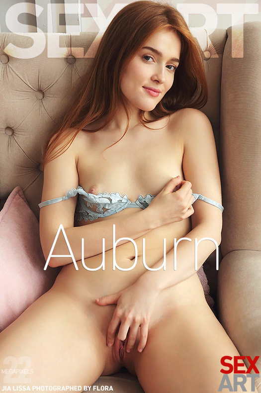 On the cover of Auburn SexArt is extraordinary Jia Lissa