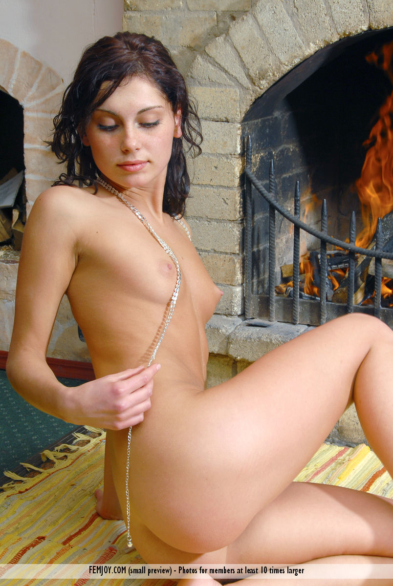 On the magazine cover of Warm me up FemJoy is heavenly Julie